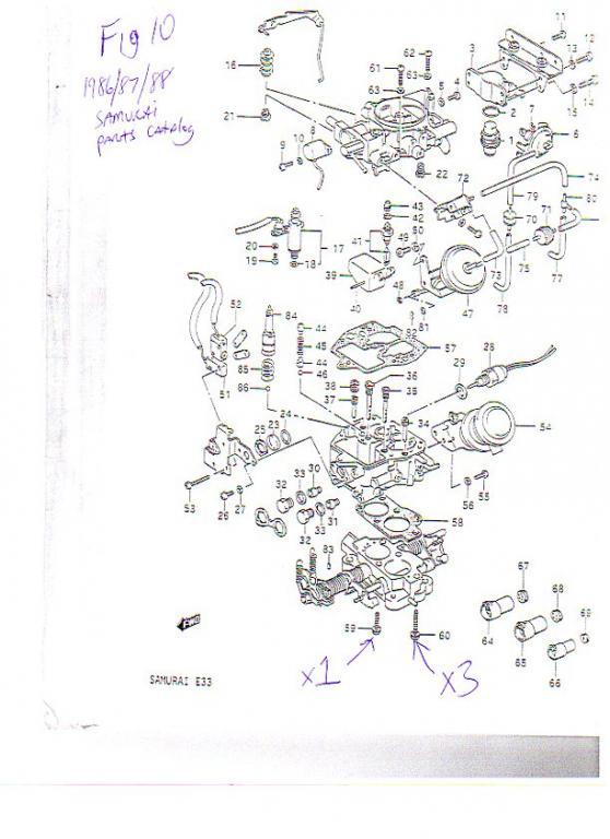 Atv Quad Bike As Well Suzuki Mikuni Carburetor Diagram Moreover