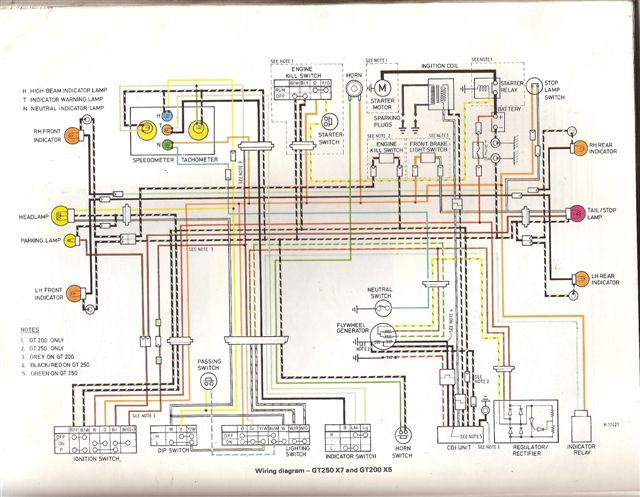 Yamaha Libero Wiring Diagram | Wiring Diagram on