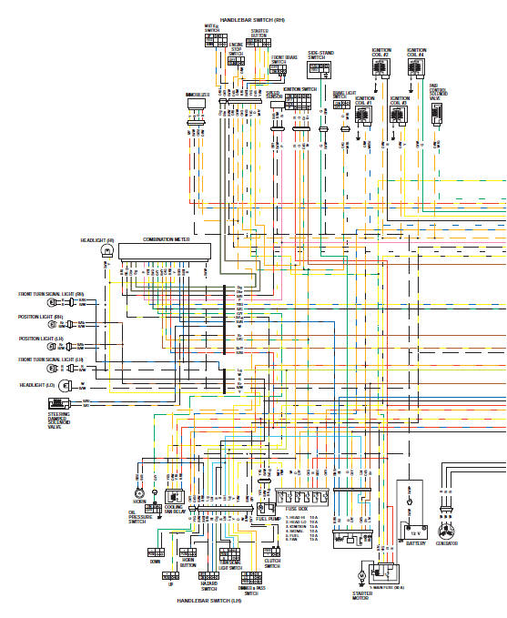 Gsxr 1000 Wiring Diagram - Wiring Diagram Database