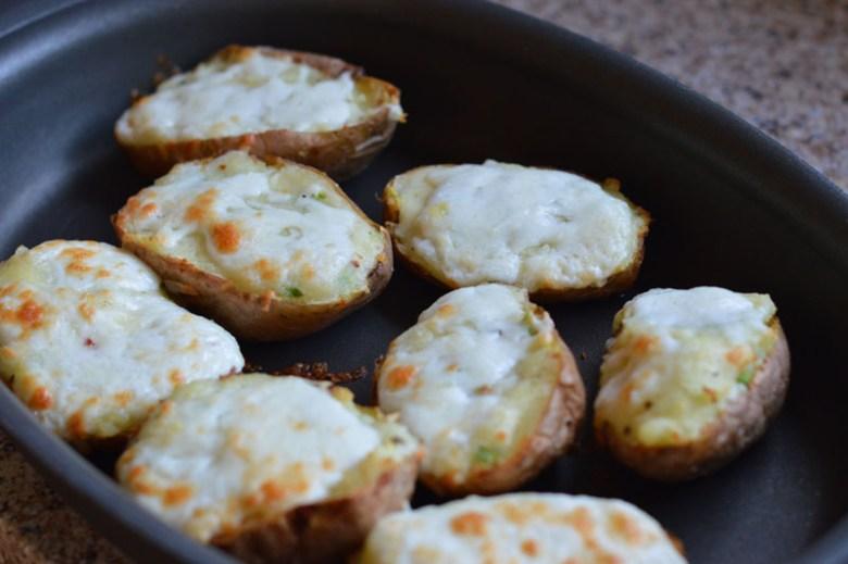 Cheesy Baked Potatoes4