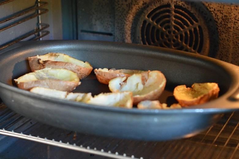 Cheesy Baked Potatoes7