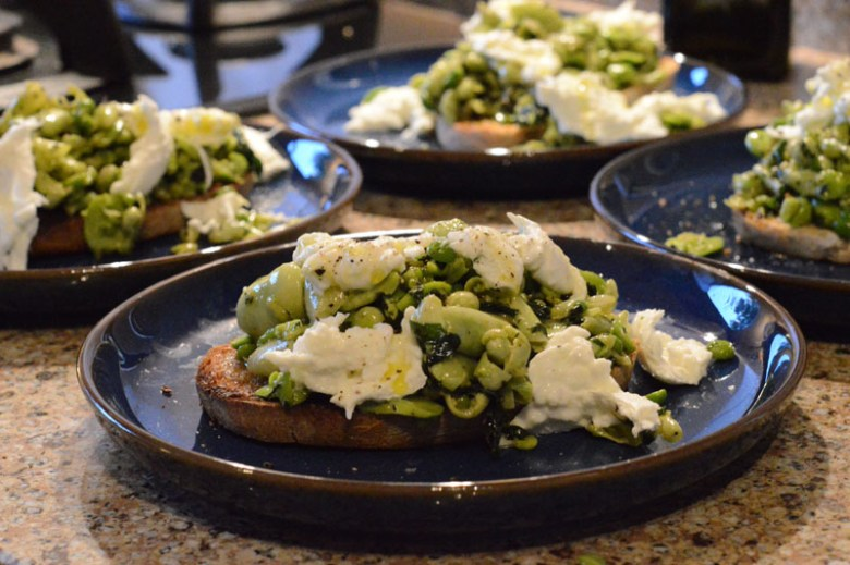 Pea and broad beans 3