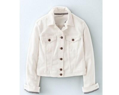 White denim jacket copy
