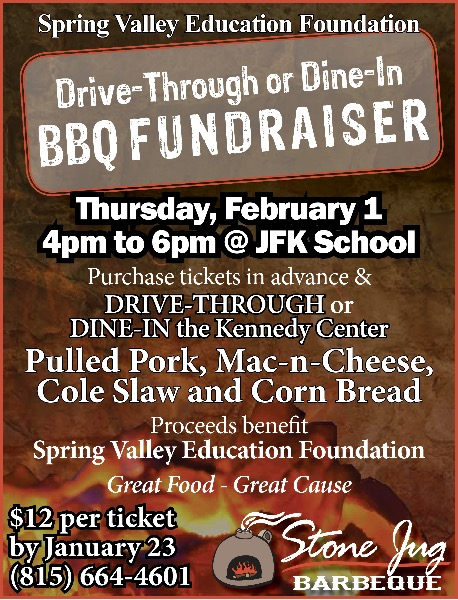 SV99 - Stone Jug Drive-Through Dine-In BBQ February 1 400 - 600 - bbq benefit flyers