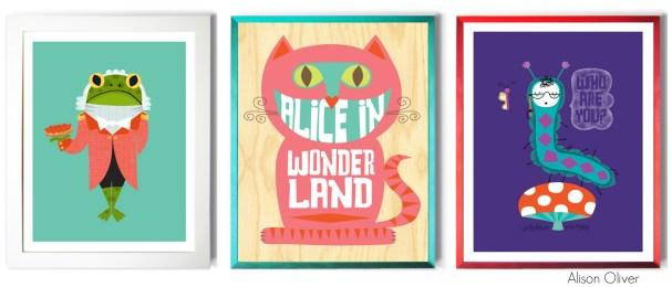 Alice Prints Alison Oliver