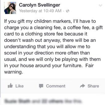 Property of Carolyn Svellinger