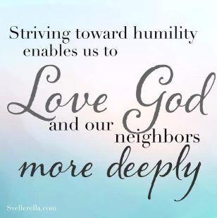 Humility, property of Carolyn Svellinger