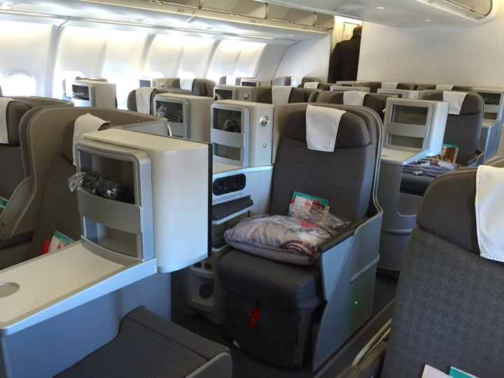Iberia Newest Business Class In The A330 On Mad Jfk