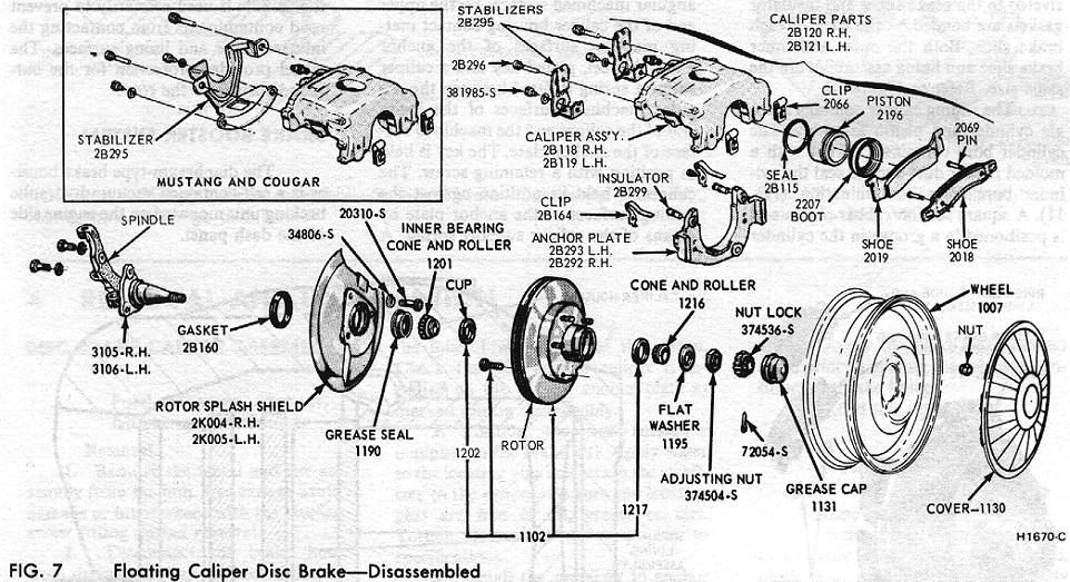 Disc Brake Assembly Diagram - Wwwcaseistore \u2022