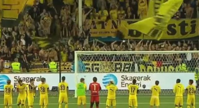 Igrači i navijači Dortmunda!