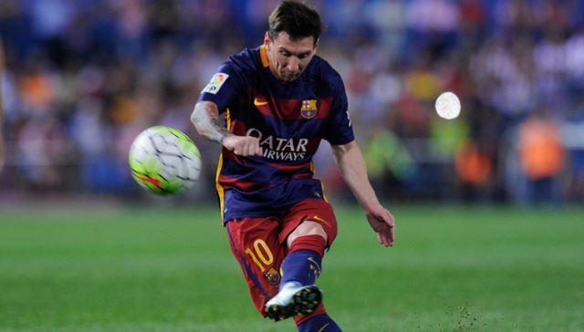 Kada Messi igra