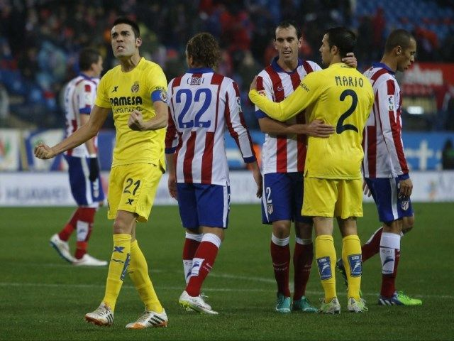 Villarreal-Atletico Madrid