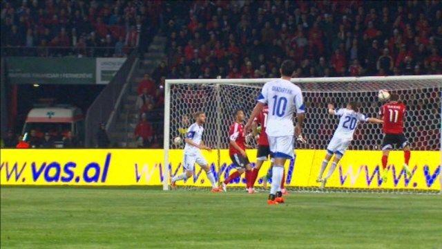 Armenija - Albanija gol