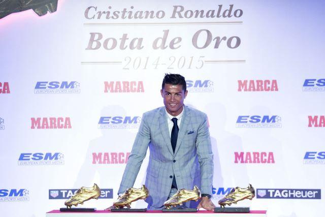 Cristiano Ronaldo dobio Zlatnu kopačku (2)