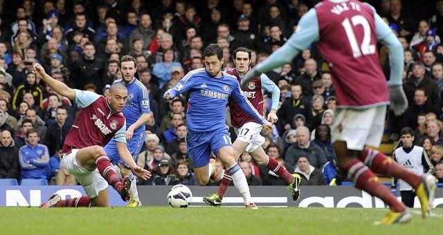 West Ham - Chelsea, Hazard