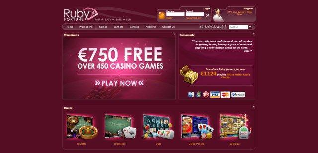 Ruby Fortune Casino