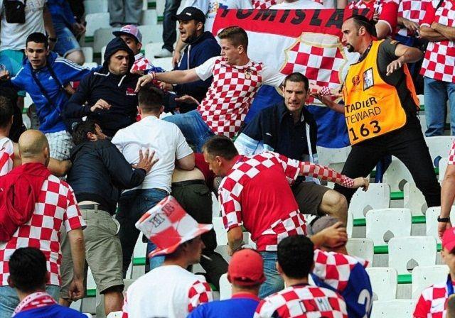 UEFA optužila Hrvatsku i Tursku nakon navijačkih nereda