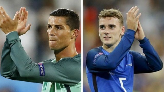Ronaldo v Griezmann