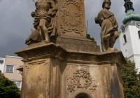 Mariánský sloup ve Svitavách a jeho autor Johann Sturmer