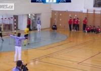 Kuriózní branka v penaltovém rozstřelu ve finále sálové kopané