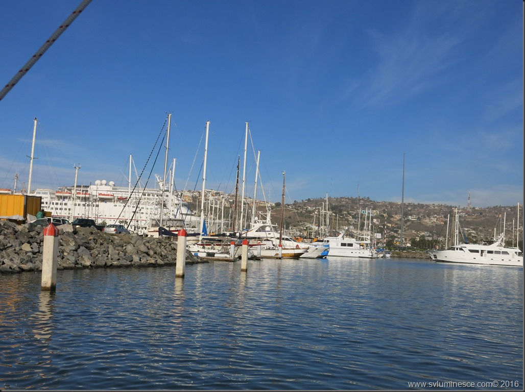 View of Ensenada Marina