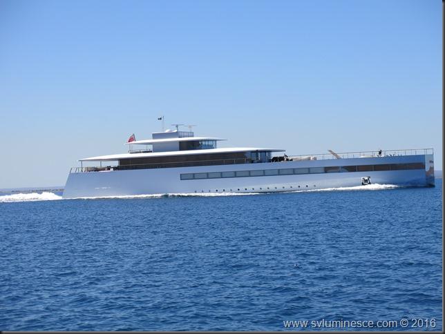 Interesting yacht design