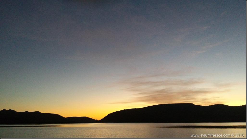 Sun Rise in Espiritu
