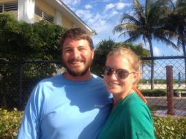 Logan and Gillian @ Sombrero Beach