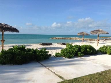 The beach at Palm Cay Marina, not too shabby