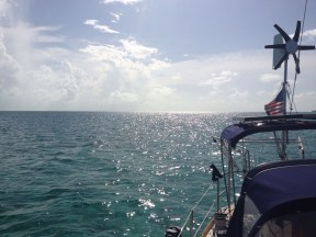 Afternoon sun at Cave Cay