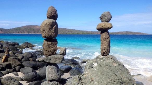 Beachin' rock art
