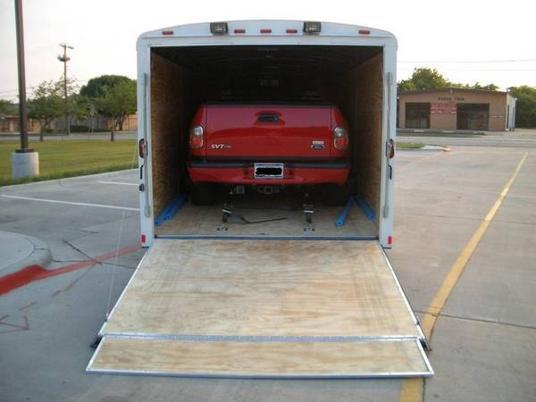 For Sale 24ft Enclosed Trailer Toybox
