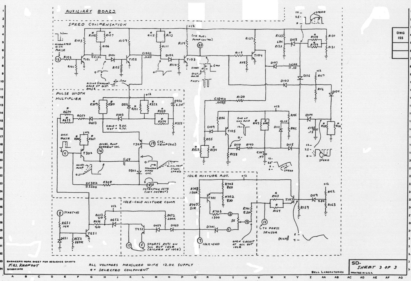 circuit diagrams with a potentiometer