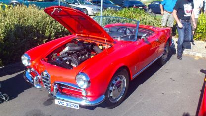 Alfa Romeo Giulietta at Classics By The Beach, Hobart