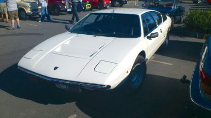 Lamborghini Urraco at Classics By The Beach, Hobart