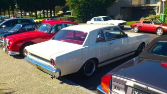 Ford Falcon GTA at Classics By The Beach, Hobart
