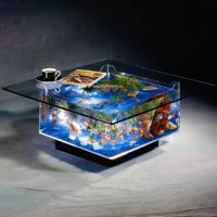 Fish tank Coffee Table | Swagger Magazine