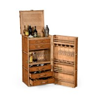 Drinks Cabinet In Travel Trunk Style | Swanky Interiors