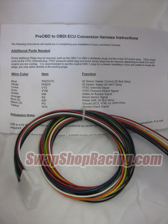 Wiring Harness Conversions for Honda  Acura Engine Swaps