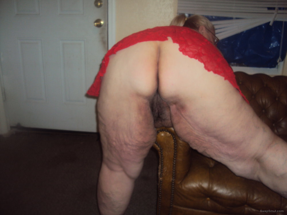granny pussy bent over