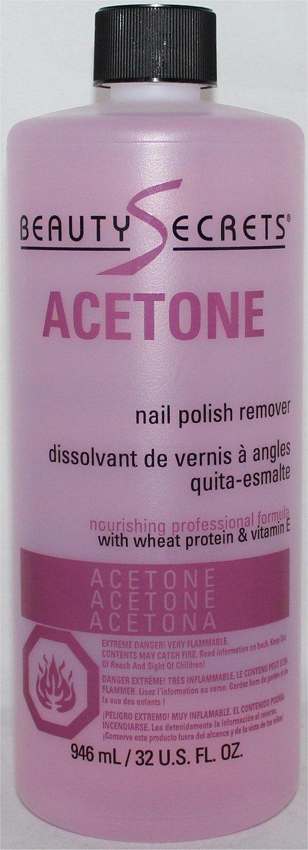 Ingredients Of Nail Enamel Remover