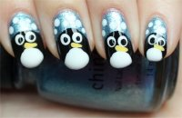 Nail Art Tutorial: Penguin Nails | Swatch And Learn