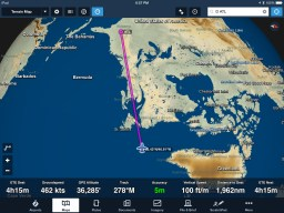 My ForeFlight Moving Map