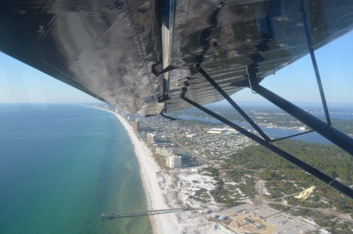 Turning Around Over Panama City, FL