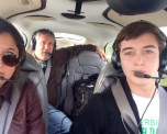 Haley, Rod, And Swayne In The Cirrus