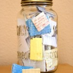 Today On The Boards: A Gratitude Jar