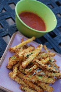 Today on the Boards: Zucchini Parmesan Fries