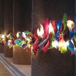 Today on The Boards: A Light and Ribbon Garland