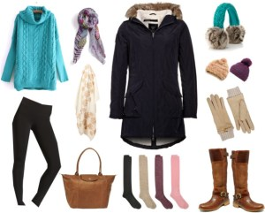 Ladies Inspiration: East Coast Winter Wear