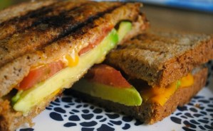 Today on the Boards: Tomato and Avocado Grilled Cheese